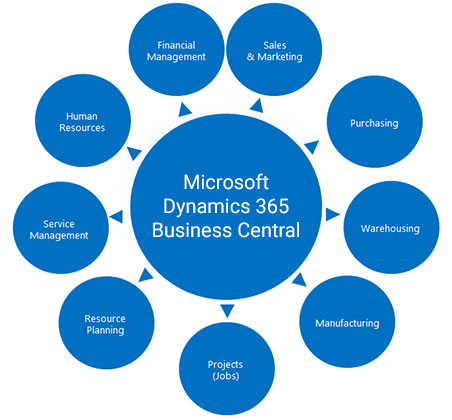 Microsoft Dynamics 365 Business Central   Services